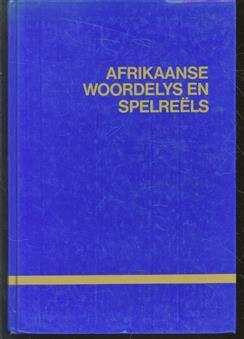 Afrikaanse woordelys en spelre�ls