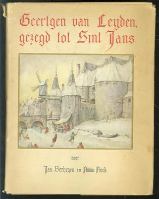 Geertgen van Leyden, gezegd tot Sint Jans ( MET STOFOMSLAG )