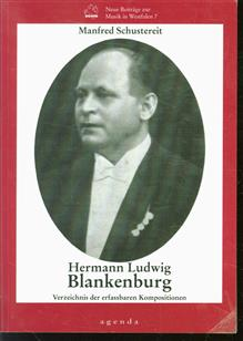 Hermann Ludwig Blankenburg : Verzeichnis der erfassbaren Kompositionen