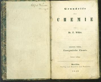 Grundriss der Chemie.    1 theil, Unorganische Chemie