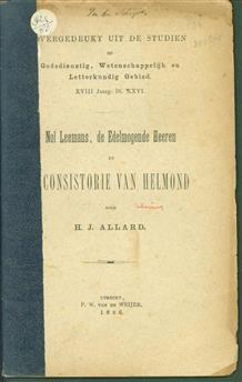 Nol Leemans, de edelmogende heeren en 't Consistorie van Helmond