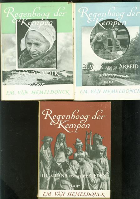 Regenboog der Kempen ( complete set 3 delen )
