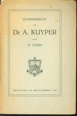 Levensbericht van Dr. A. Kuyper