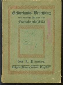 Gelderland s bevrijding van het Fransche juk (1813)