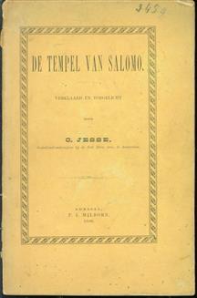 De tempel van Salomo, verklaard en toegelicht