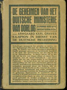 De geheimen van het Duitsche ministerie van oorlog, de spionnage-dienst van den Duitschen generalen staf