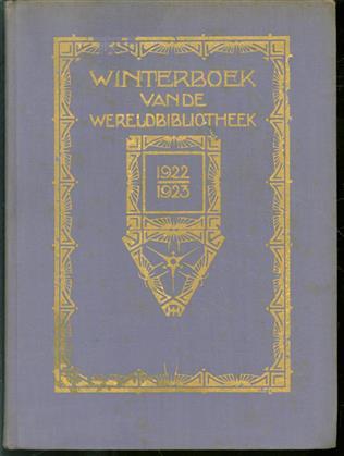 Winterboek van de wereldbibliotheek 1922-1923