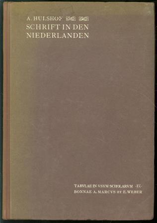 Deutsche und lateinische Schrift in den Nederlanden (1350-1650)