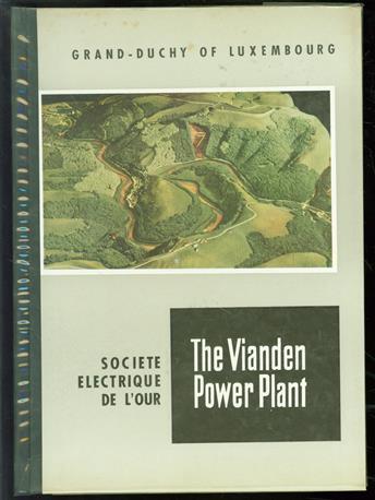 The river Our Vianden power plant.