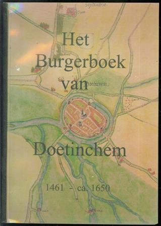 Het Burgerboek van Doetinchem 1461-ca. 1650