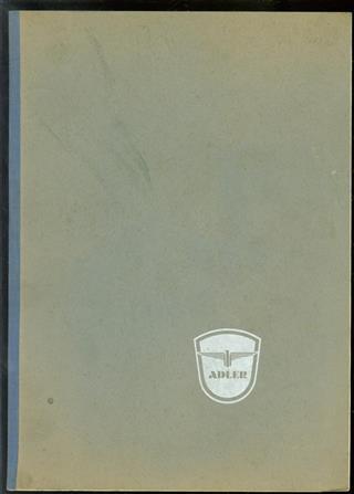 Lijst van onderdelen voor Adler Motorrijwielen - MB 150 - MB 200 - MB 250 - MB 201 - M 2011.