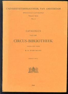 Catalogus van de circus-bibliotheek nagelaten door K. D. Hartmans