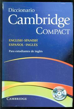 Diccionario Cambridge compact English-Spanish, español-inglés.