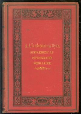 Catalogus van boeken, platen, enz. verkrijgbaar tot zoolang de voorraad stekt bij het Genealogisch en Heraldisch Archief te 's-Gravenhage alsmede supplement op den in 1884 verschenen Dictionnaire nobiliare.