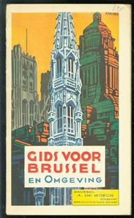 (TOERISME / TOERISTEN BROCHURE) Gids voor Brussel en omgeving.