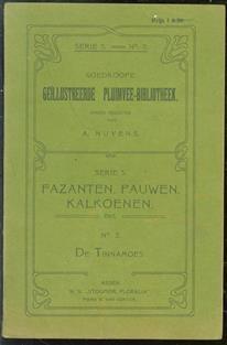 Goedkoope Geillustreerde pluimvee bibliotheek Fazanten, pauwen, kalkoenen,  Serie 3 De Tinnamoes