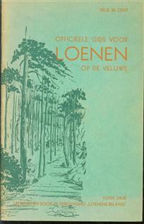 (TOERISME / TOERISTEN BROCHURE) Officieele gids voor Loenen op de Veluwe