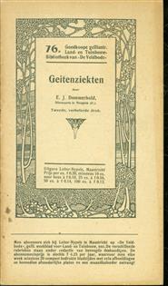 Geitenziekten - Goedkoope geillustreerde land en tuinbouw bibliotheek van De Veldbode nr 76