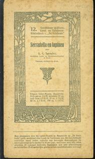 Serradella en lupinen - Goodkoope geillustreerde land en tuinbouw bibliotheek v De Veldbode Nr 12