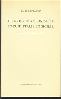 De Griekse kolonisatie in Zuid-Itali� en Sicili�