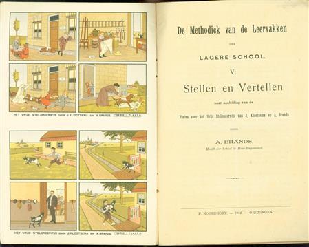 Stellen en vertellen naar aanleiding van de platen voor het vrije stelonderwijs van J. Klootsema en A. Brands