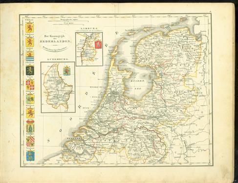 School-atlas van alle deelen der aarde, in 24 kaarten : opgedragen aan zijne excellentie den heere Graaf J. van den Bosch