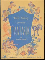 (BROCHURE) Walt Disney presenteert Fantasia in technicolor