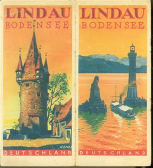 (TOERISME / TOERISTEN BROCHURE) Deutschland: Lindau Bodensee