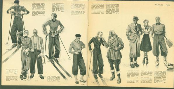 (BEDRIJF CATALOGUS - TRADE CATALOGUE) Madelios - Sports D'Hiver 1933 - 1934 ( Place de la Madeleine - Paris )