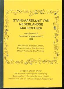 Standaardlijst van Nederlandse macrofungi : supplement 2 (inclusief supplement 1) 1992