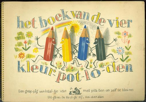 Het boek van de vier kleur-pot-lo-den : een grappig verhaaltje