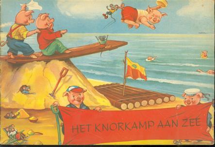 Het Knor-kamp aan zee