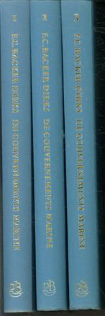 De Gouvernementsmarine in het voormalige Nederlands-Indië ... 1861-1949. ( set 3 delen )