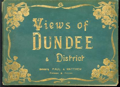 (TOERISME / TOERISTEN BROCHURE) Album of Photographic view of Dundee and District.