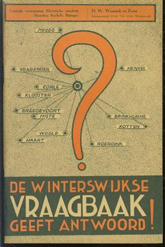De Winterswijkse vraagbaak geeft antwoord. ( adressengids )