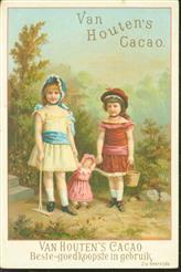 2 meisjes met pop - 2 girls with doll