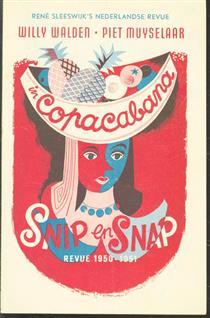 Copacabana De Snip en Snap revue 1950 - 1951