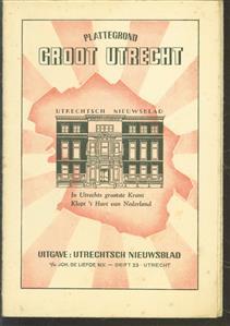 (PLATTEGROND / KAART - CITY MAP / MAP) Plattegrond Groot Utrecht.