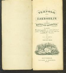 Vervolg op het zakboekje van maten en gewigten bevattende: Herleidingstafels en onderscheidene andere berekeningen enz. ten nutte van verschillende standen