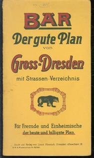 Klemich neuester Plan von Dresden.