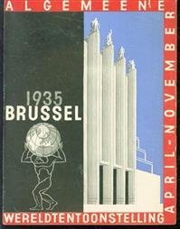 (BROCHURE) Algemeene wereldtentoonstelling Brussel 1935  - April - November