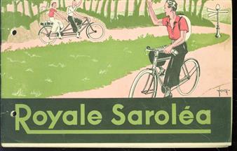 (BEDRIJF CATALOGUS - TRADE CATALOGUE) ( Rijwiel - fietsen Catalogus ) Royale Sarol�a.