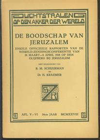 De boodschap van jerusalem