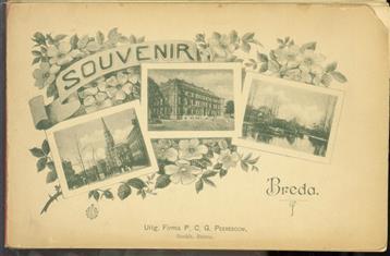 (TOERISME TOERISTEN BROCHURE)  Souvenir Breda. ( incl 2 extra platen zonder titel )