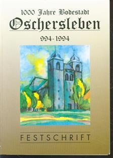 Festschrift 1000 Jahre Oschersleben