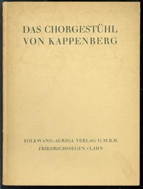 Das Chorgestuhl von Kappenberg : [43 Aufnahmen]