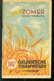 Gelderse tramwegen ( GTW ) zomer dienstregeling 1949