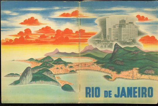 (TOERISME / TOERISTEN BROCHURE) Rio de Janeiro.