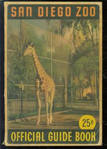 Official guide book of the San Diego Zoo.