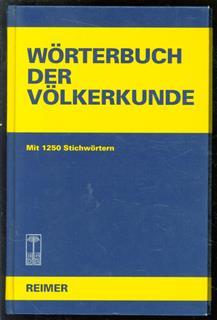 Worterbuch der Volkerkunde